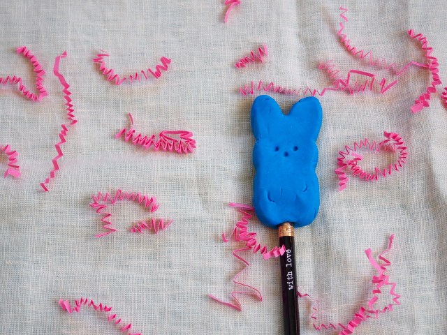 DIY Bunny Erasers perfect for Easter | Popcorn and Chocolate