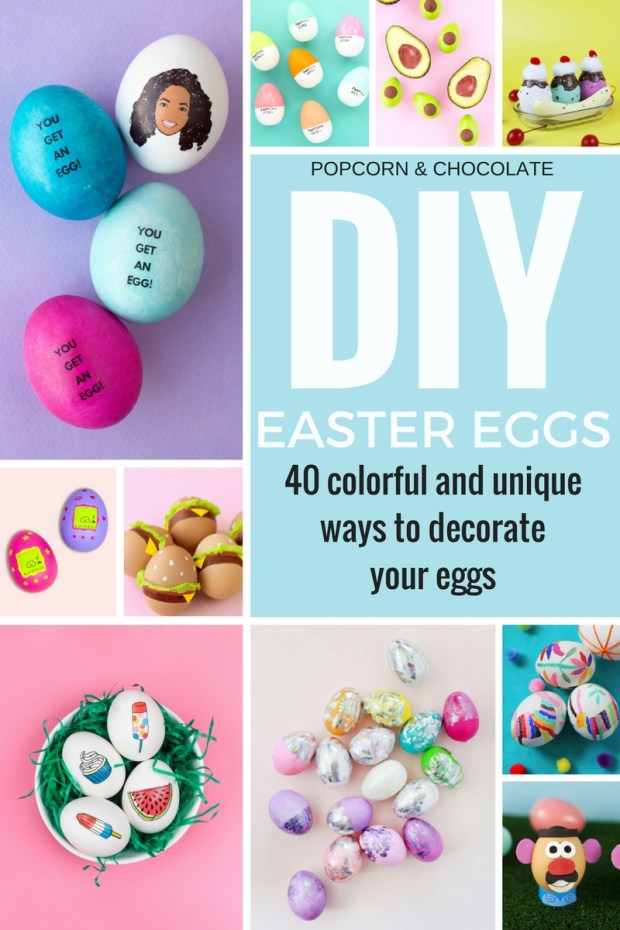 DIY Easter Eggs Roundup by Popcorn and Chocolate