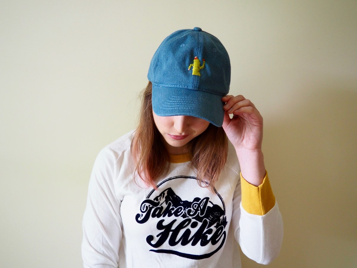DIY Embroidered Cactus Hat | Popcorn and Chocolate