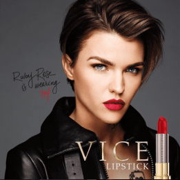 Vice Lipstick - Ruby Rose is wearing 714