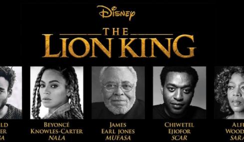 disney lion king 2019 cast