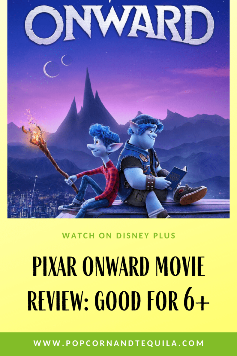 Onward Pixar Movie Review