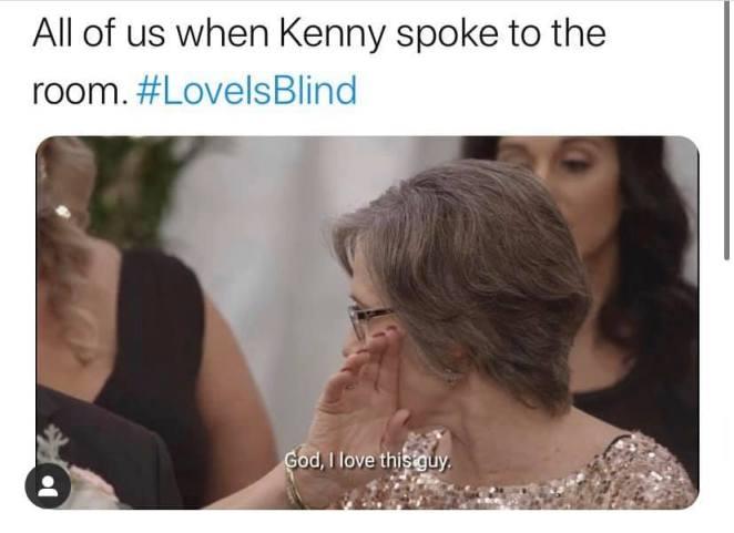 love is blind kenny meme