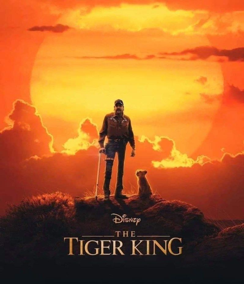 tiger king on netflix meme