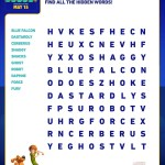 SCOOB Activity Sheets Word Search