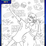 SCOOB Coloring Pages Ruh Roh