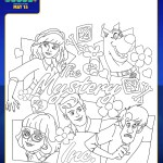 SCOOB Coloring Pages The Mystery Inc