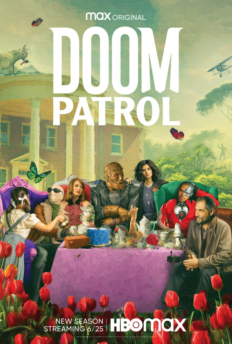 doom patrol season 2 hbo max poster