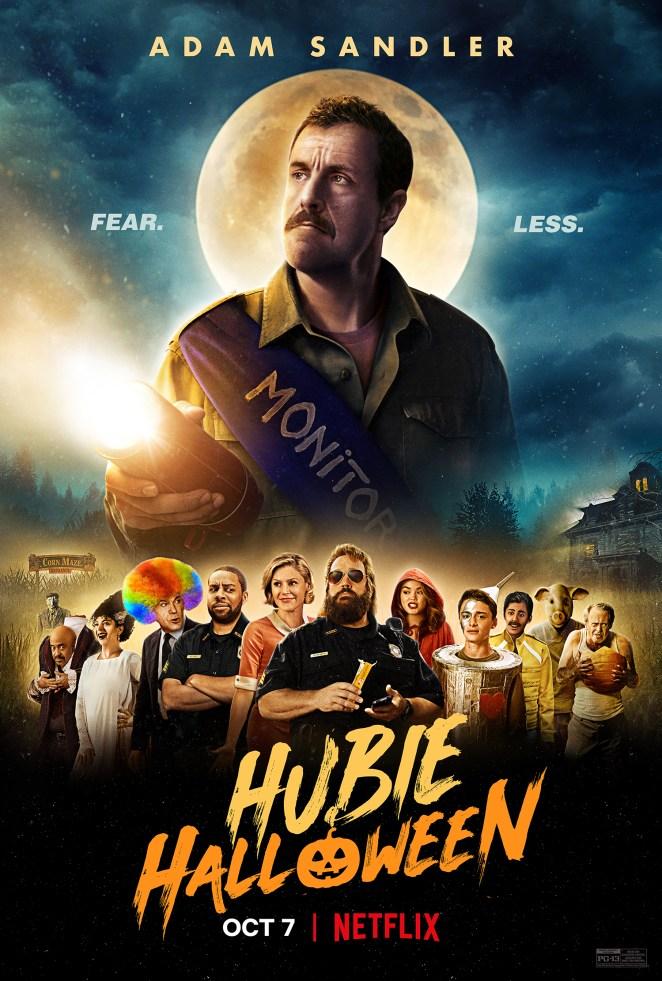 Hubie Halloween Netflix Poster