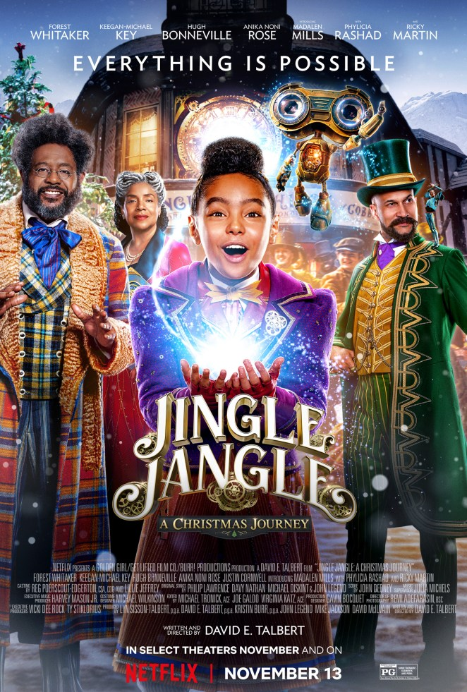 jingle jangle netflix movie review poster