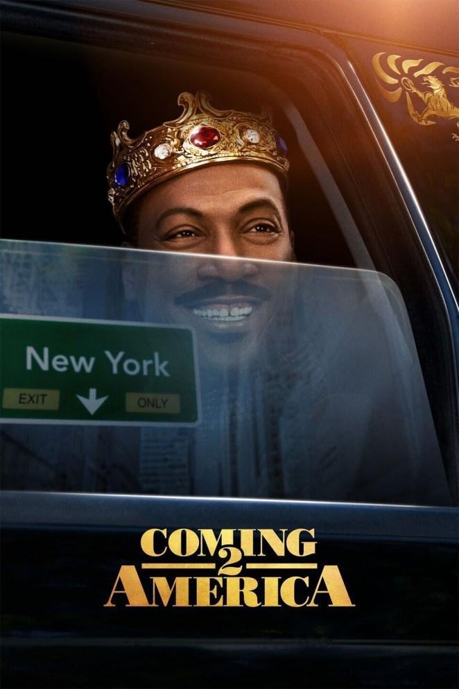 black movies 2021 Coming 2 America movie poster