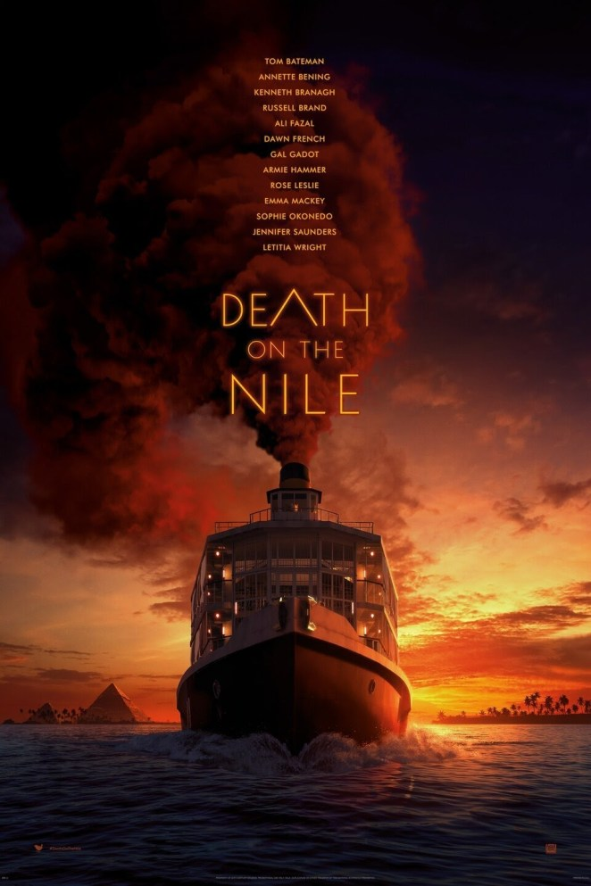 black movies 2021 Death on the Nile movie poster