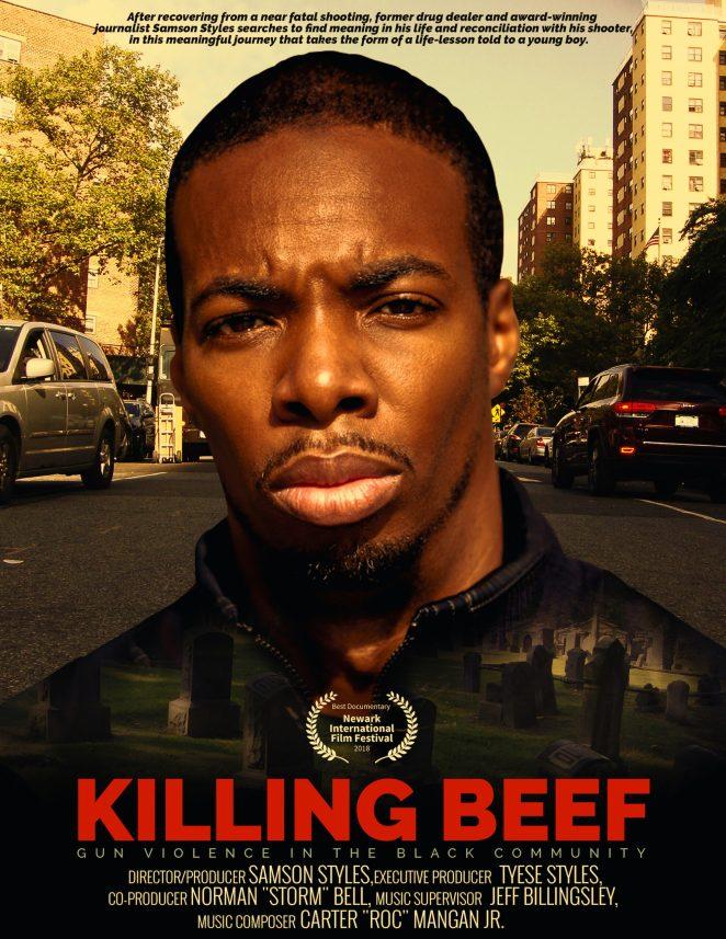 black movies 2021 Killing Beef movie poster