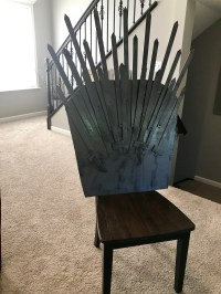 Diy Iron Throne Chair - Diy (Do It Your Self)