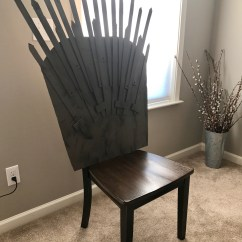 Iron Throne Chair Cover Office Viking Make Your Own For Under 25 Popcorner Reviews