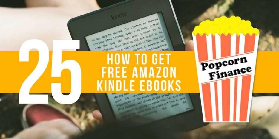 Episode 025 How To Get Free Amazon Kindle Ebooks Popcorn