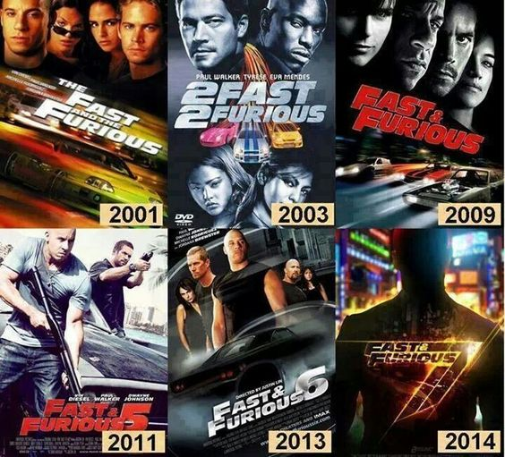 fast and furious films