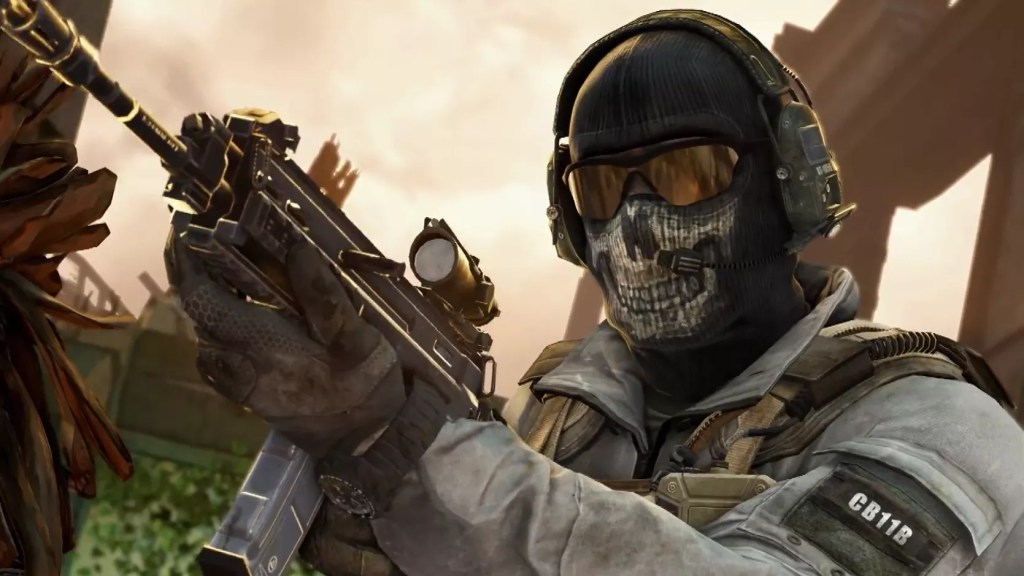 jeux video heros masqués - Call of duty Ghost - GHOST RILEY - 1