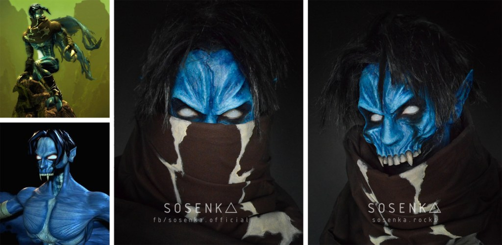 jeux video heros masqués - Legacy of Kain Soul Reaver - Raziel - cosplay