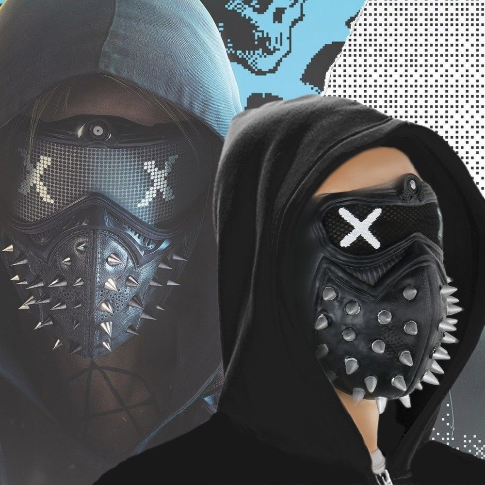 jeux video heros masqués - Watch Dogs 2 - Wrench - cosplay