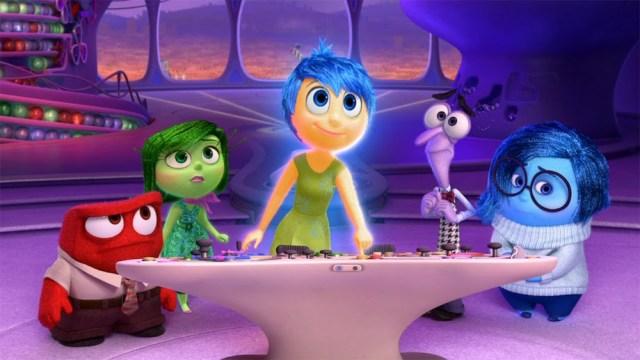 Inside Out, Walt Disney Pictures, Pixar
