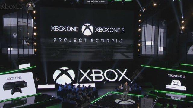 Xbox One, Project Scorpio, Microsoft