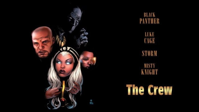Black Panther and the Crew #4, Marvel Comics