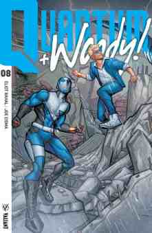 QUANTUM AND WOODY! (2017) #8 – Interlocking Variant by Joe Eisma