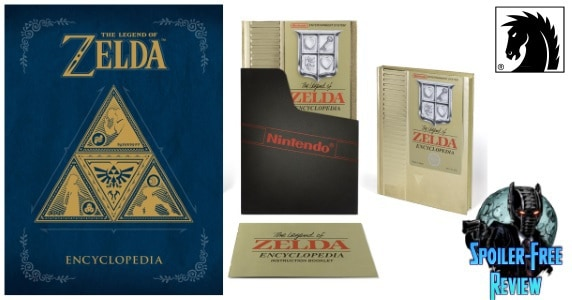 [Book Review] THE LEGEND OF ZELDA ENCYCLOPEDIA from Dark Horse Comics