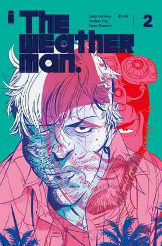 The Weatherman #2 - Cover B by Marcos Martin