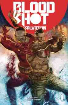 Bloodshot Salvation #11 - Cover B by Renato Guedes