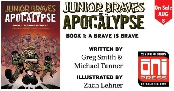 Junior Braves of the Apocalypse Vol. 2