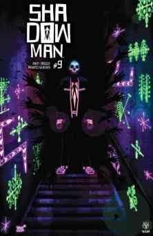 SHADOWMAN (2018) #9 - Cover C by Jeffrey Veregge