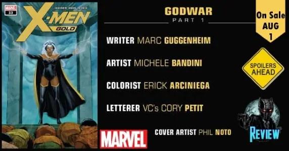 X-Men Gold # 33