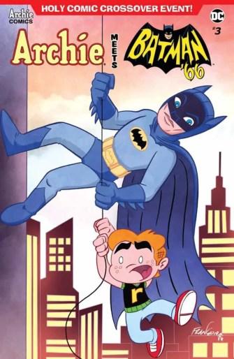 ARCHIE MEETS BATMAN '66 #3 - Variant Cover by Franco Aureliani