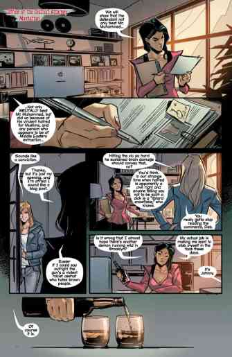 Witchblade #8 preview page 5