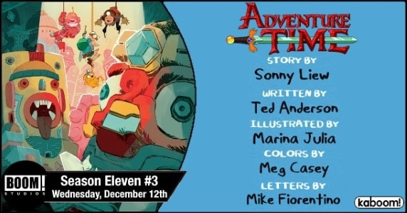 [Preview] BOOM! Studios' 12/12 Release: ADVENTURE TIME - Season 11 #3