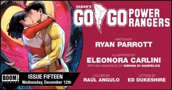 [Preview] BOOM! Studios' 12/12 Release: SABAN'S GO GO POWER RANGERS #15
