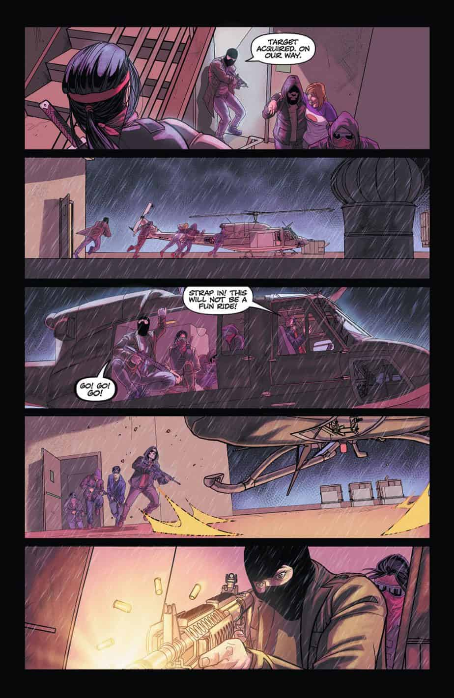 THE FREEZE #1 preview page 3