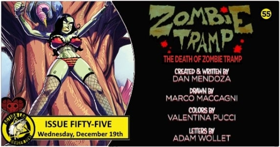 [Preview] Action Lab: Danger Zone's 12/19 Release: ZOMBIE TRAMP #55