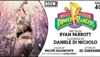 Preview] BOOM! Studios' 7/24 Release: MIGHTY MORPHIN POWER