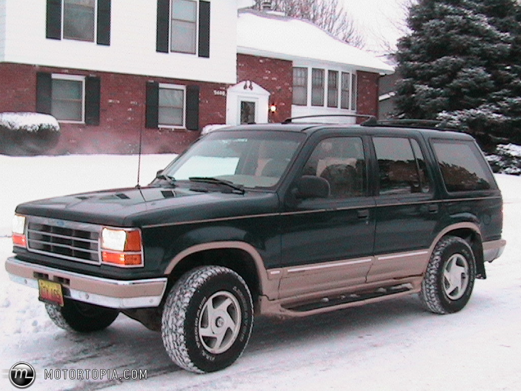hight resolution of the 1994 ford explorer eddie bauer edition image from motortopia