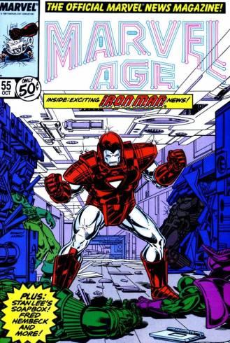 Marvel Age 55