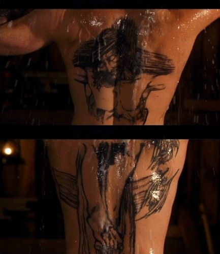 boondock saints back tattoos