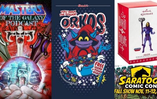 Masters of the Galaxy Episode 42 - 5,000 Members! Merch! Saratoga Comic Con!
