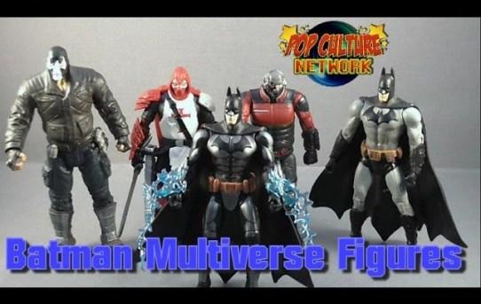 Mattel Batman Multiverse Figures Review