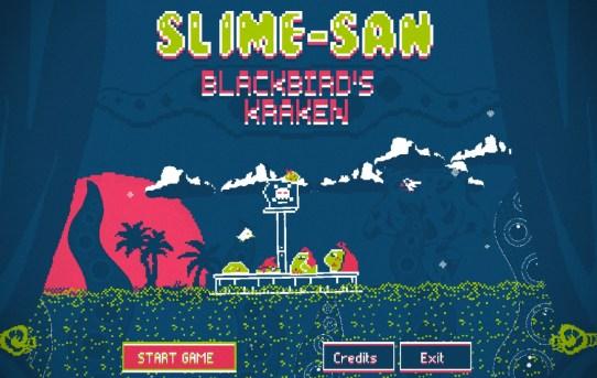 """""""Slime-san: Blackbird's Kraken"""": Unleash a Giant Kraken now on Nintendo Switch - for FREE!"""