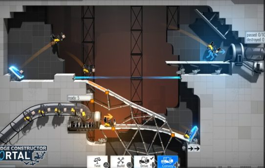 """""""Bridge Constructor Portal"""" Nominated For Best """"Puzzle - Game"""" In the 22nd Annual Webby Awards"""