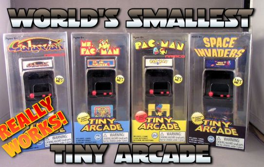 World's Smallest Tiny Arcade Keychains