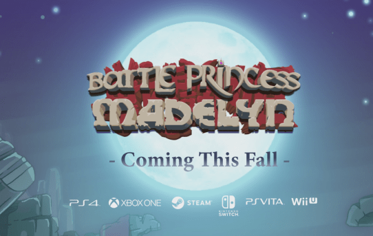 Battle Princess Madelyn Set To Release This Fall (PC/Switch/PS4/XB1)